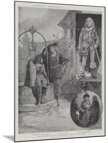 Mr Louis N Parker's New Play, The Swashbuckler, at the Duke of York's Theatre-Henry Charles Seppings Wright-Mounted Giclee Print