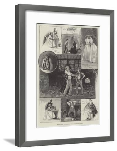 Sketches from The Middleman, at the Shaftesbury Theatre-Henry Charles Seppings Wright-Framed Art Print