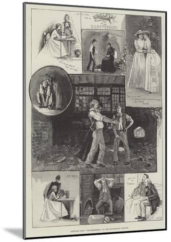Sketches from The Middleman, at the Shaftesbury Theatre-Henry Charles Seppings Wright-Mounted Giclee Print