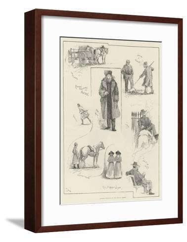 America Revisited by Our Special Artist-Henry Charles Seppings Wright-Framed Art Print
