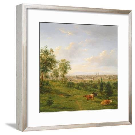 View of Melbourne, 19th Century-Henry Gritten-Framed Art Print