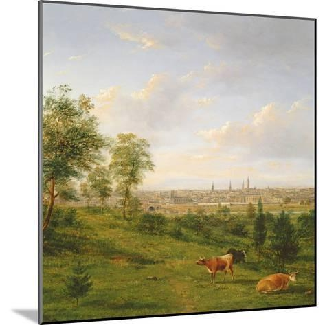 View of Melbourne, 19th Century-Henry Gritten-Mounted Giclee Print