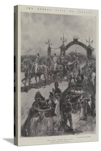The Queen's Visit to Ireland-Henry Charles Seppings Wright-Stretched Canvas Print
