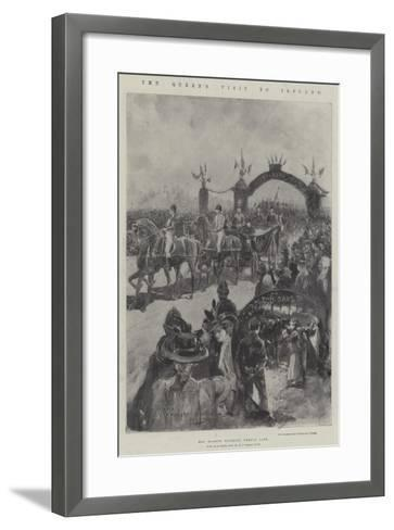 The Queen's Visit to Ireland-Henry Charles Seppings Wright-Framed Art Print