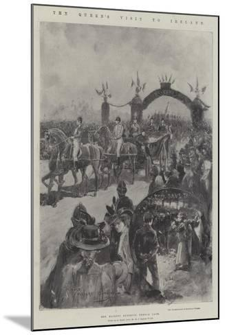 The Queen's Visit to Ireland-Henry Charles Seppings Wright-Mounted Giclee Print