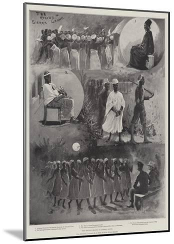 The Recent Rising in Sierra Leone-Henry Charles Seppings Wright-Mounted Giclee Print