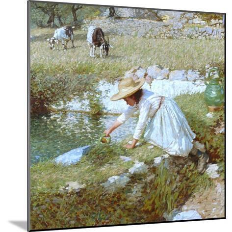 A Provencal Stream, C.1903-Henry Herbert La Thangue-Mounted Giclee Print