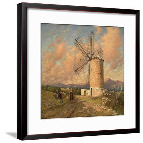 A Spanish Mill-Henry Herbert La Thangue-Framed Art Print