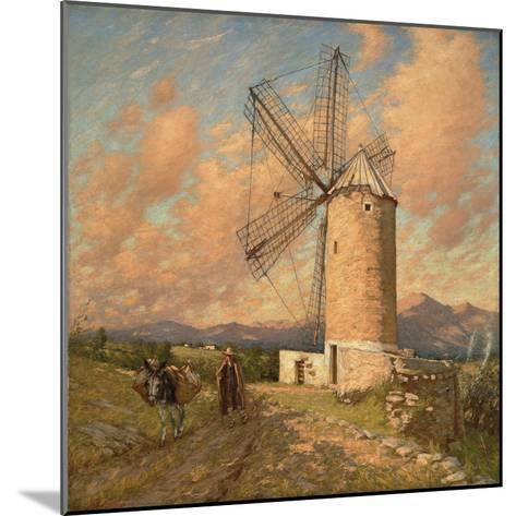 A Spanish Mill-Henry Herbert La Thangue-Mounted Giclee Print