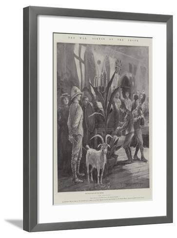 The War, Scenes at the Front-Henry Charles Seppings Wright-Framed Art Print