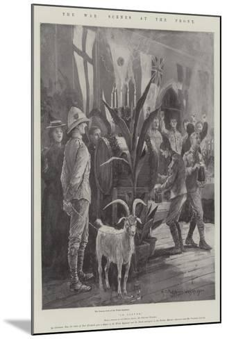 The War, Scenes at the Front-Henry Charles Seppings Wright-Mounted Giclee Print