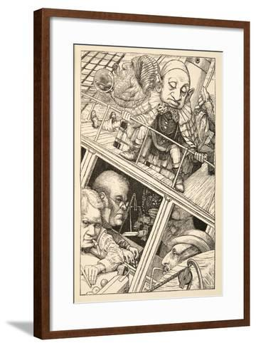 He Had Wholly Forgotten His Name'-Henry Holiday-Framed Art Print