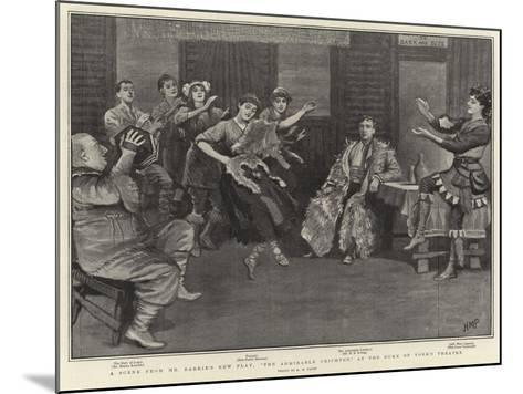 A Scene from Mr Barrie's New Play, The Admirable Crichton, at the Duke of York's Theatre-Henry Marriott Paget-Mounted Giclee Print