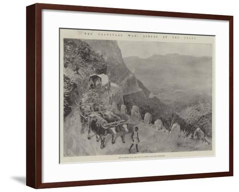 The Transvaal War, Scenes at the Front-Henry Charles Seppings Wright-Framed Art Print