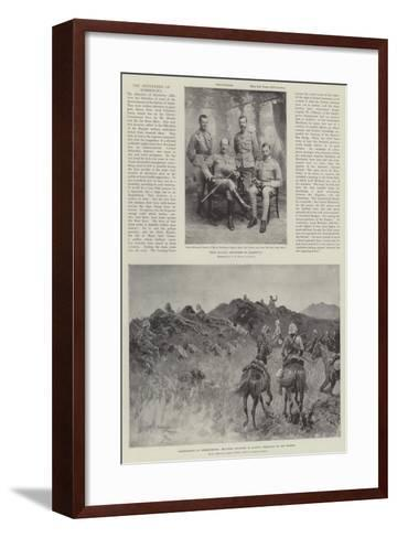 The Defenders of Kimberley-Henry Charles Seppings Wright-Framed Art Print
