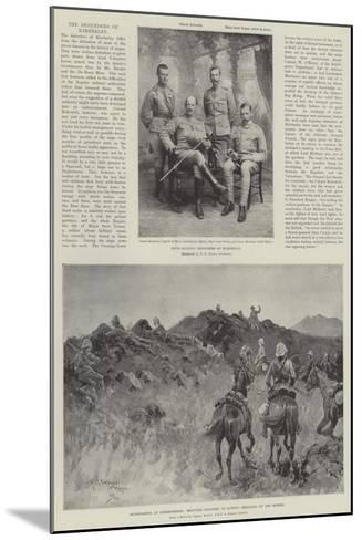 The Defenders of Kimberley-Henry Charles Seppings Wright-Mounted Giclee Print