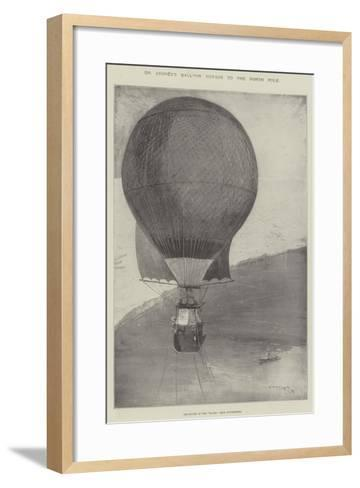Dr Andree's Balloon Voyage to the North Pole-Henry Charles Seppings Wright-Framed Art Print