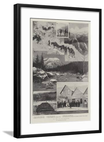 On the Way to Klondike-Henry Charles Seppings Wright-Framed Art Print