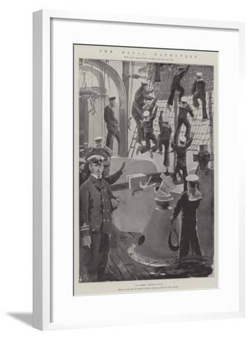 The Naval Manoeuvres-Henry Charles Seppings Wright-Framed Art Print