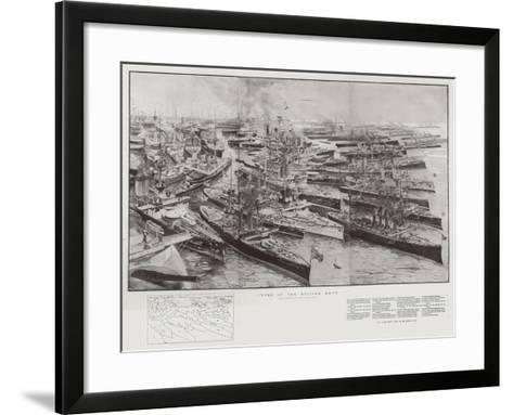 Types of the British Navy-Henry Charles Seppings Wright-Framed Art Print