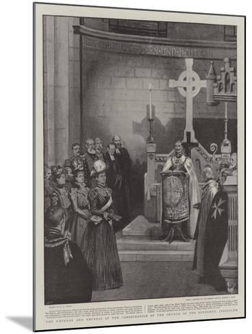 The Emperor and Empress at the Consecration of the Church of the Redeemer, Jerusalem-Henry Marriott Paget-Mounted Giclee Print