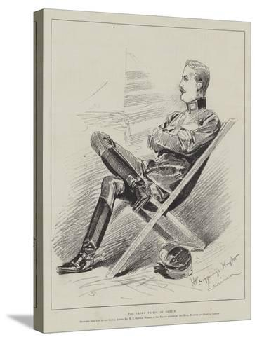 The Crown Prince of Greece-Henry Charles Seppings Wright-Stretched Canvas Print