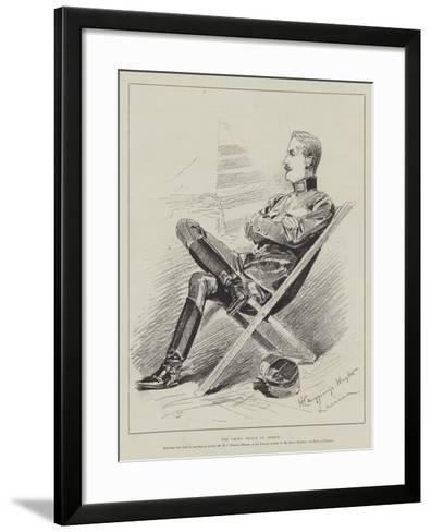 The Crown Prince of Greece-Henry Charles Seppings Wright-Framed Art Print