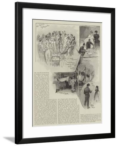 The Ashanti Expedition-Henry Charles Seppings Wright-Framed Art Print