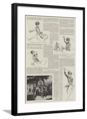 Volunteer Types a Hundred Years Ago-Henry Charles Seppings Wright-Framed Art Print