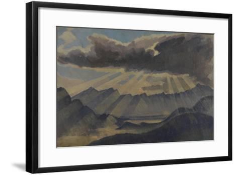 Hohfluh, Switzerland-Henry Clarence Whaite-Framed Art Print