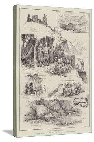 The Black Mountain Expedition-Henry Charles Seppings Wright-Stretched Canvas Print