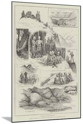 The Black Mountain Expedition-Henry Charles Seppings Wright-Mounted Giclee Print