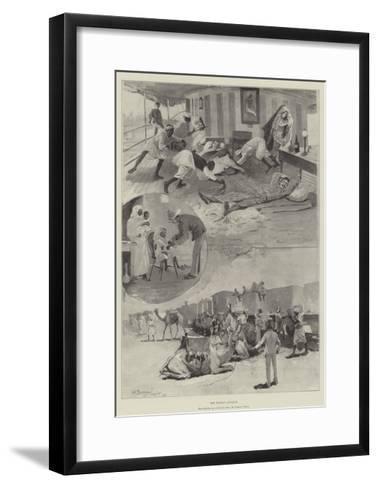 The Soudan Advance-Henry Charles Seppings Wright-Framed Art Print