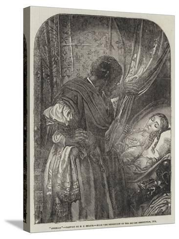 Othello-Henry Courtney Selous-Stretched Canvas Print