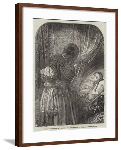 Othello-Henry Courtney Selous-Framed Art Print
