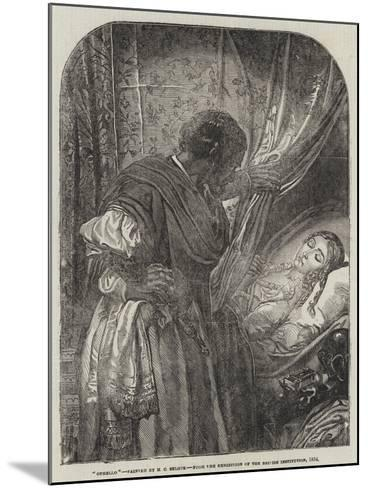Othello-Henry Courtney Selous-Mounted Giclee Print