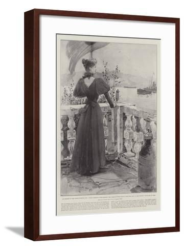 An Episode in the Graeco-Turkish War-Henry Charles Seppings Wright-Framed Art Print
