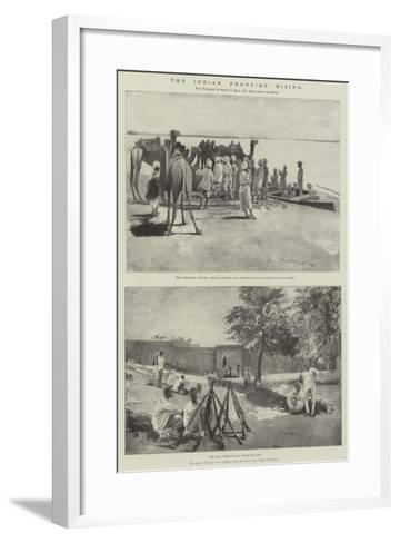 The Indian Frontier Rising-Henry Charles Seppings Wright-Framed Art Print