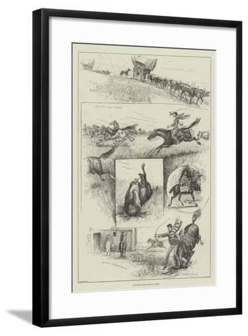 Sketches from Buenos Ayres-Henry Charles Seppings Wright-Framed Art Print