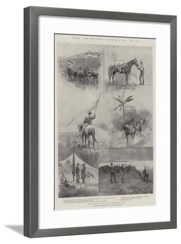The Spanish-American War, the Battle of San Juan, Santiago De Cuba-Henry Charles Seppings Wright-Framed Art Print