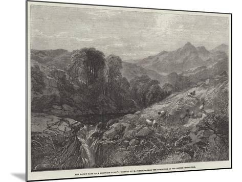 The Rocky Path of a Mountain Burn-Henry Jutsum-Mounted Giclee Print