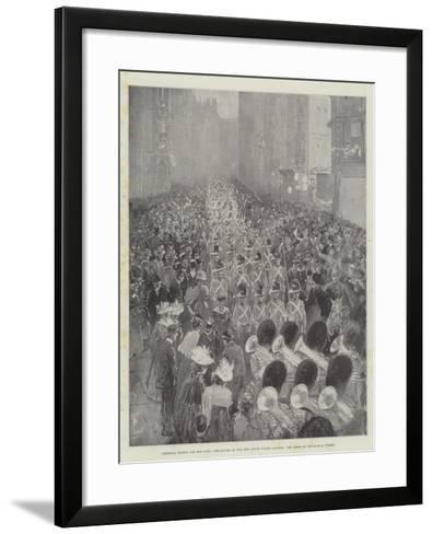 Colonial Troops for the Cape-Henry Charles Seppings Wright-Framed Art Print
