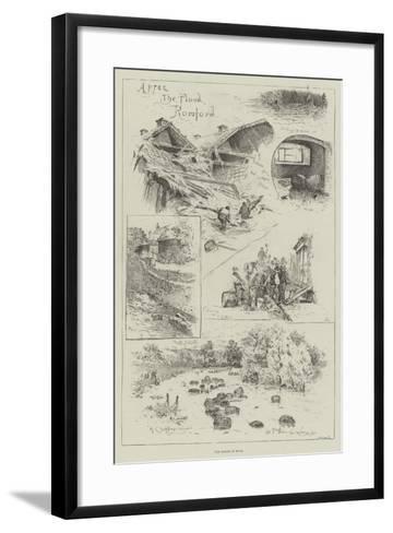The Floods in Essex-Henry Charles Seppings Wright-Framed Art Print