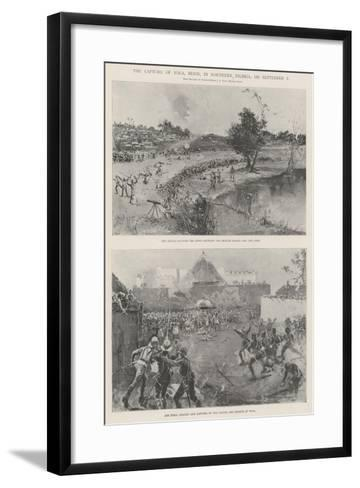 The Capture of Yola, Benin, in Northern Nigeria, on 2 September-Henry Charles Seppings Wright-Framed Art Print
