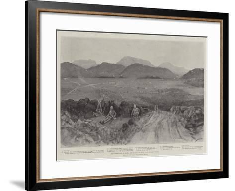 The Operations in Natal, the Action of 10 April at Sunday's River-Henry Charles Seppings Wright-Framed Art Print