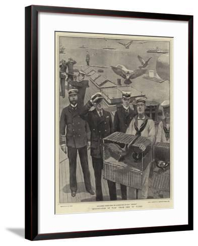 Messengers of War from the B Fleet-Henry Marriott Paget-Framed Art Print