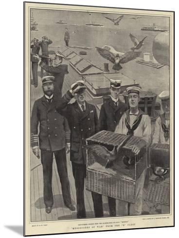 Messengers of War from the B Fleet-Henry Marriott Paget-Mounted Giclee Print