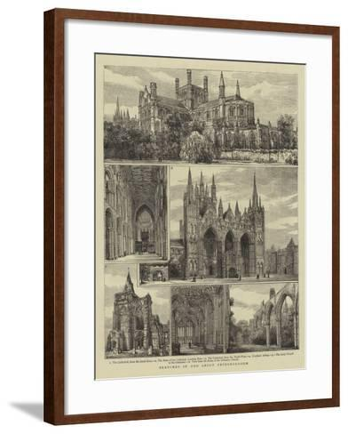 Sketches in and About Peterborough-Henry William Brewer-Framed Art Print