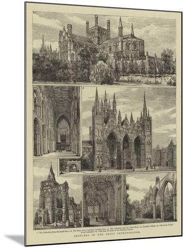 Sketches in and About Peterborough-Henry William Brewer-Mounted Giclee Print