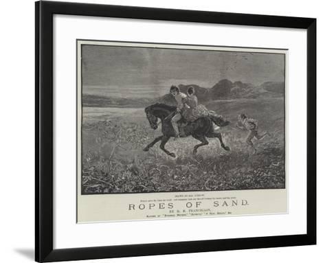 Ropes of Sand-Henry Stephen Ludlow-Framed Art Print